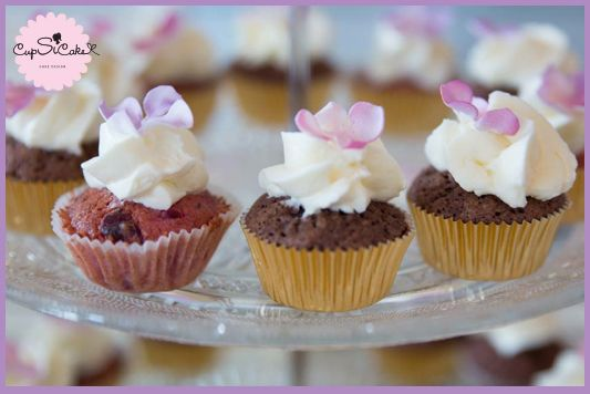 Cup cakes haute couture