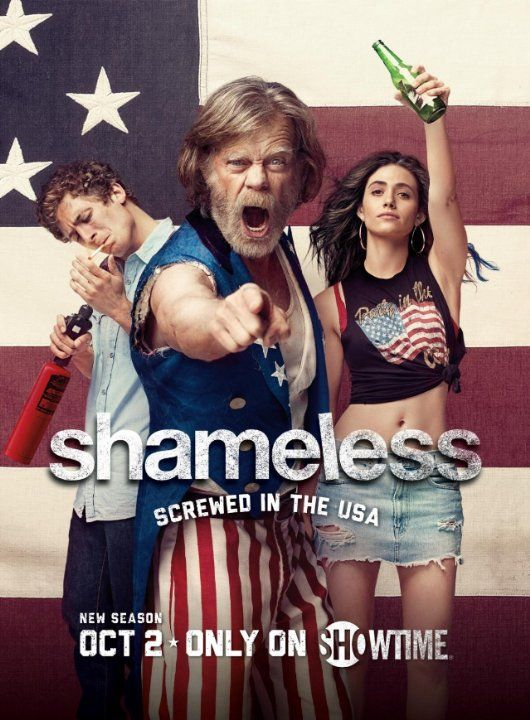 Shameless season 7.....addicted to this show.