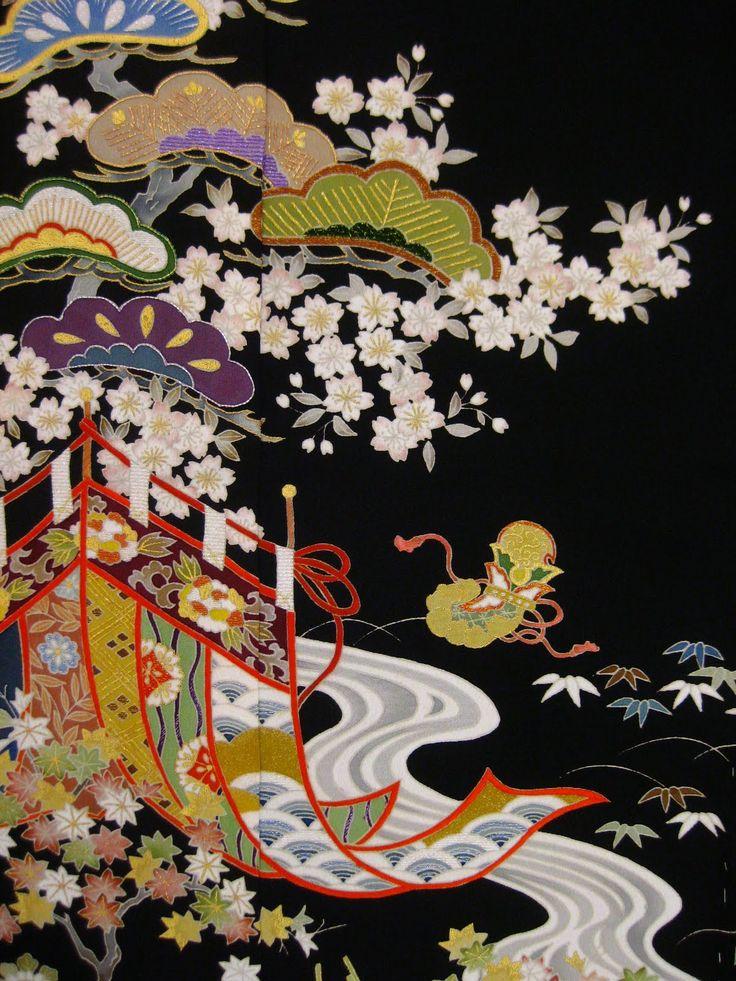 着物 柄 - Google Search | Japanese pattern and Kimono