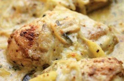 Hairy Bikers' Somerset chicken | Hairy Bikers recipes | Chicken recipes recipe - goodtoknow
