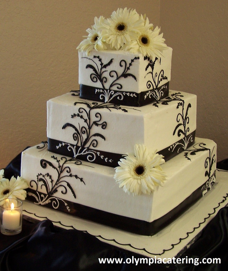 square wedding cakes with ribbon and flowers 73 best wedding cakes images on catering 20429