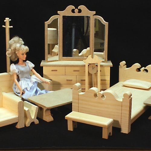Easy To Make Furniture For All Corners Of The House Doll House