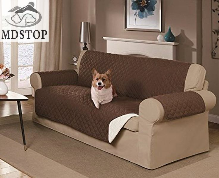 Modern Sectional Sofas Dog Double seat SOFA Cover Couch Protector for Dogs and Kids Rever
