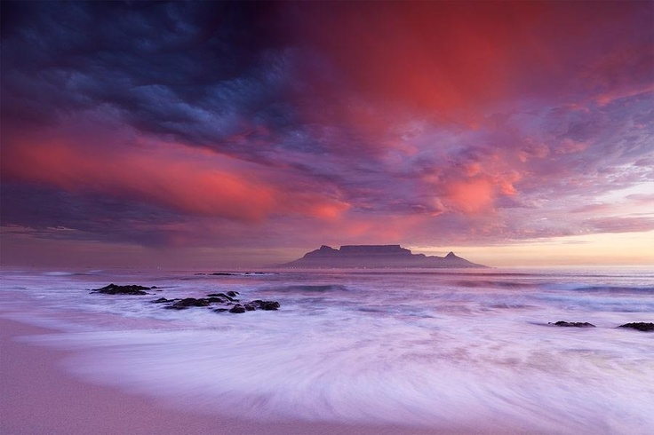 Cape Town..Table Mountain