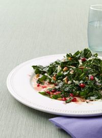Overnight Kale Salad - Healthy Recipe Finder | Prevention.  Use vegan cheese.