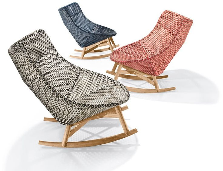 sebastian herkner's outdoor mbrace chair collection for dedon at imm cologne