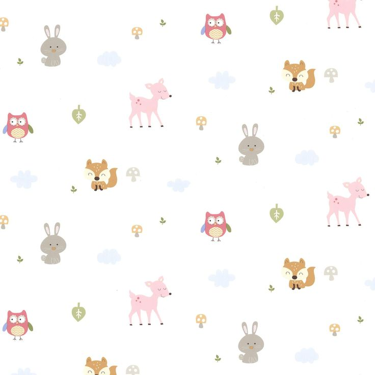 """Hide and Seek Ceci Country Club 33' x 20.5"""" Wildlife Wallpaper"""