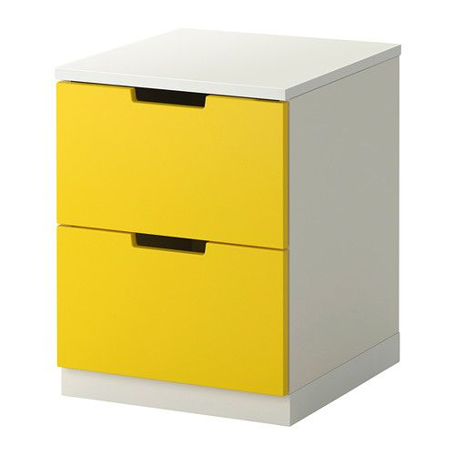 ikea nordli chest of 2 drawers you can use one modular chest of drawers or combine several. Black Bedroom Furniture Sets. Home Design Ideas