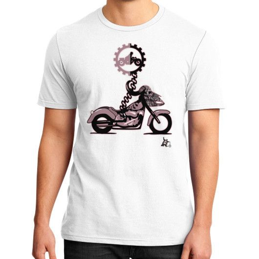 Nomad District T-Shirt (on man)