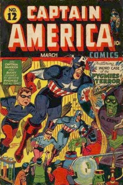 Captain America 12 - Steve Rogers - Pygmies Terror - Bucky - World War Ii - Superheroes - Steve Epting