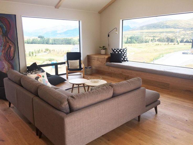 Window Seat Wooden Floor Scandi Style Interior Design Jacks Point Building