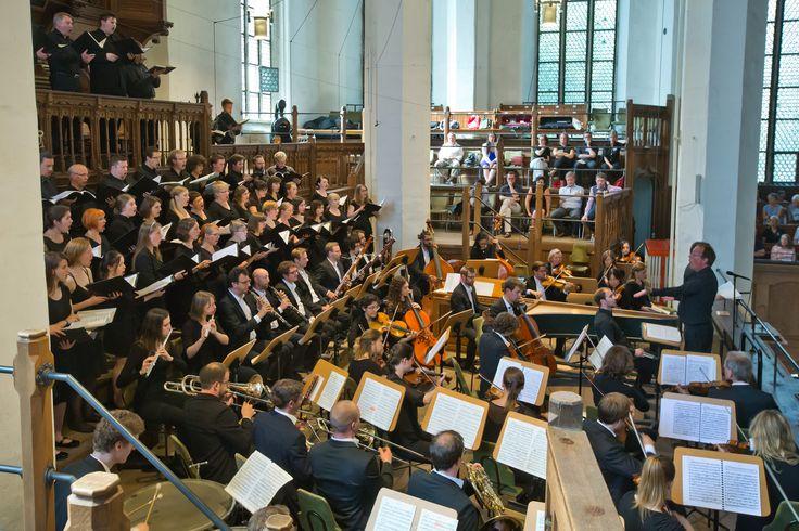 """Deutsch-Finnische Chorakademie """"b@ch für uns"""", Juni 2017, Bachfest Leipzig, Foto: Gert Mothes"""