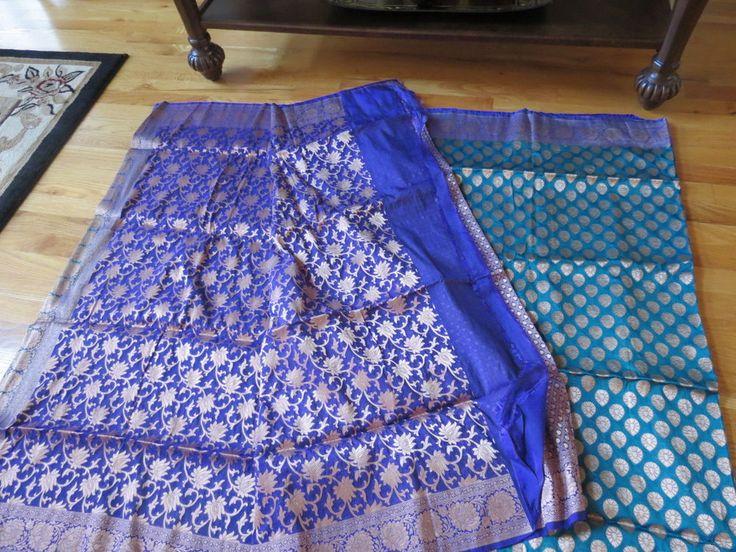 Feroze Dehra opara silk Katan #unbranded