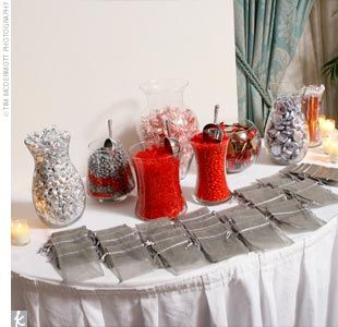 I will have silver bags like these for the candy bar, but hopefully I can find ones a little bit bigger