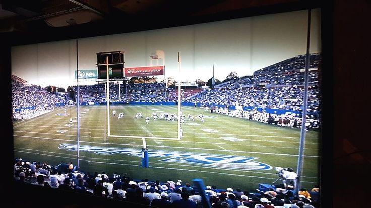 New England Patriots NFL SuperBowl 8' Light Up Table Foxboro Stadium Football #NewEnglandPatriots