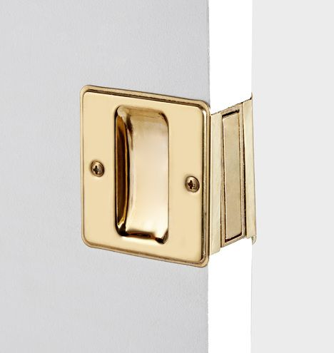 Fancy Pocket Door Pull