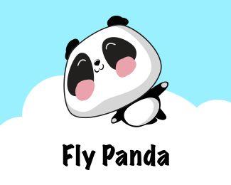 Fly panda, panda app, panda drawing, panda logo, panda art