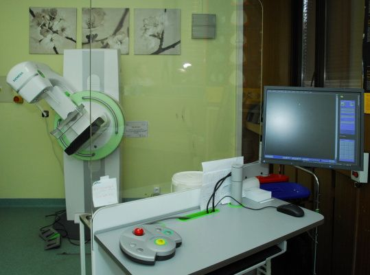 #Radiodiagnostická klinika #Nemocnice Na #Bulovce - #mamograf.