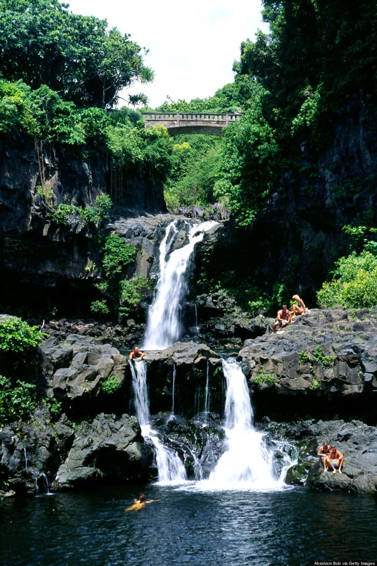 The Seven Sacred Pools in Maui are one of Hawaii's most magical spots