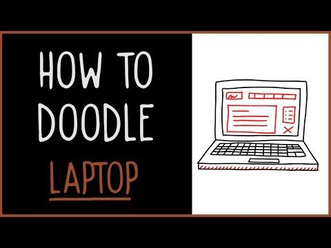 How to Doodle Laptop - IQ Doodle