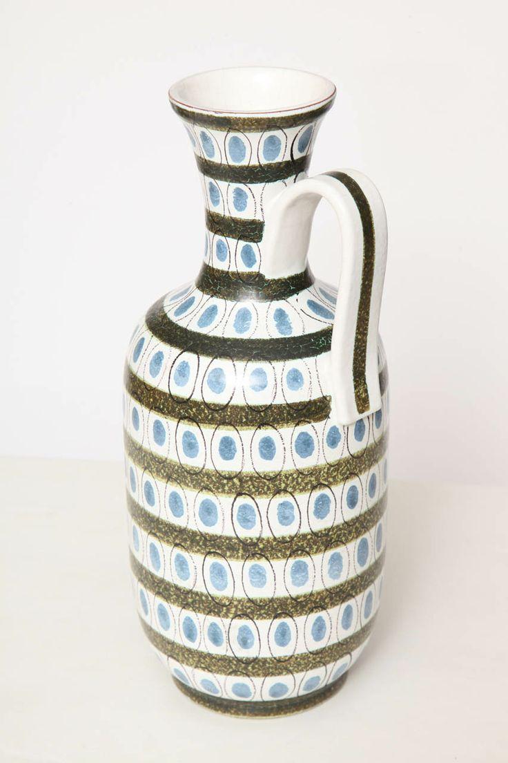 Vase/Pitcher by Stig Lindberg, Sweden. 1955.