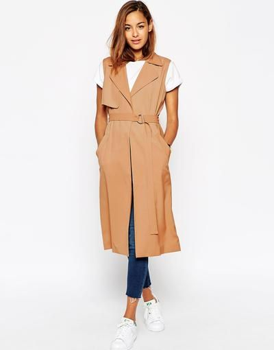 ASOS Sleeveless Duster at asos.com #covetme