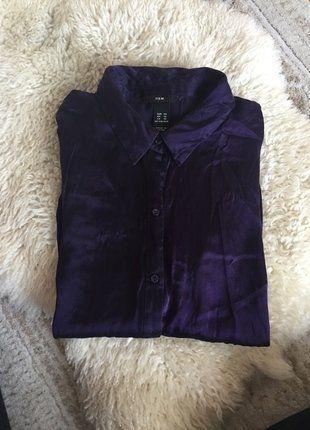 Kaufe meinen Artikel bei #Kleiderkreisel http://www.kleiderkreisel.de/damenmode/blusen/138200050-schlichte-und-doch-elegante-dunkel-lila-bluse