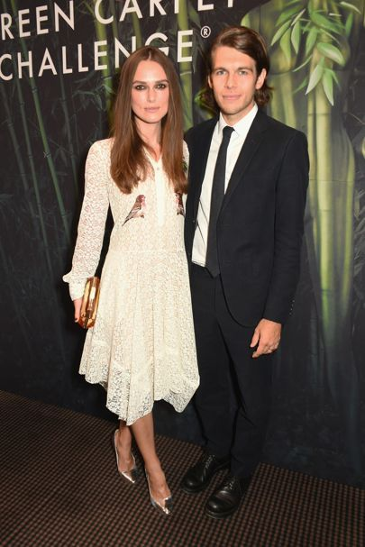 Keira Knightley and James Righton - Green Carpet Challenge BAFTA night - September 18 2016