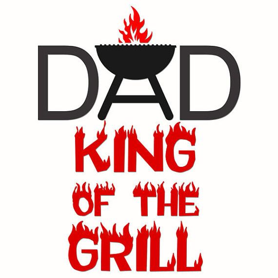 Bbq Dad Father Grill Cooking Cuttable Designs SVG by ...