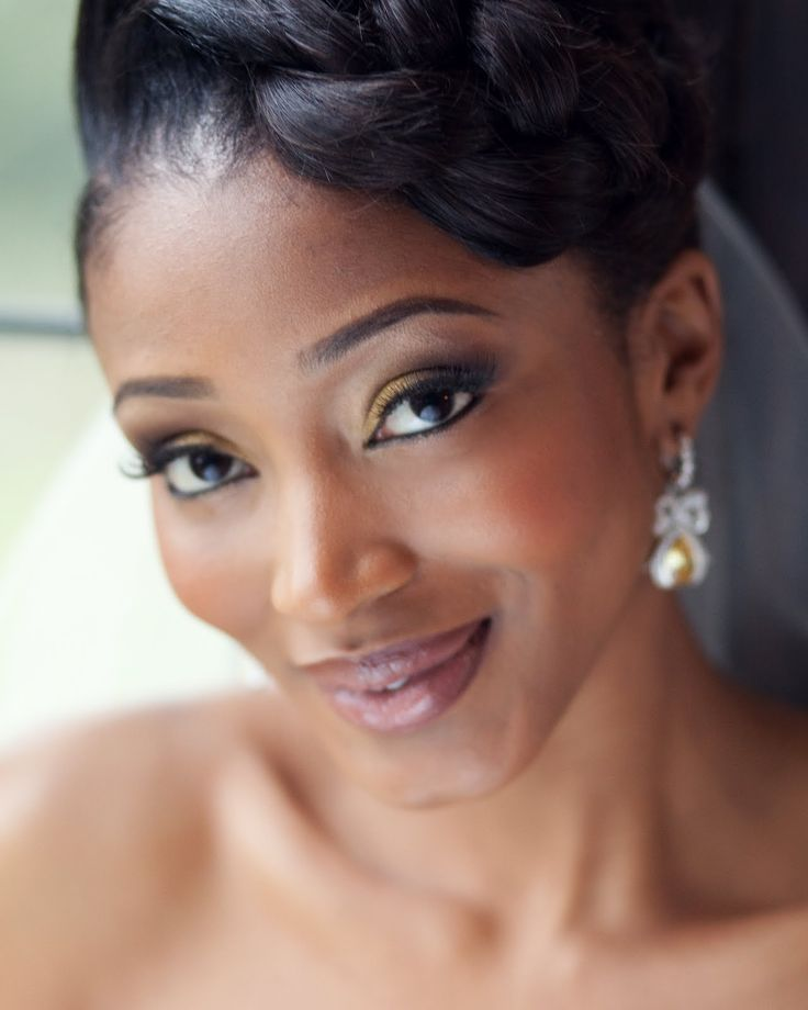 How To Apply Bridal Makeup For Black Skin : 1000+ images about Fabulous Makeup Looks on Pinterest