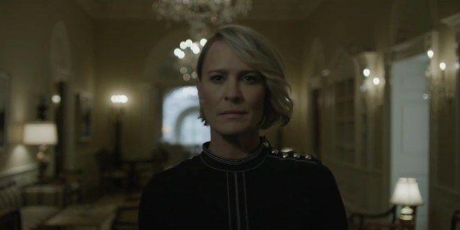 HOUSE OF CARDS : Découvrez l'excellente et efficace bande-annonce officielle pour annoncer la saison 5 sur Netflix