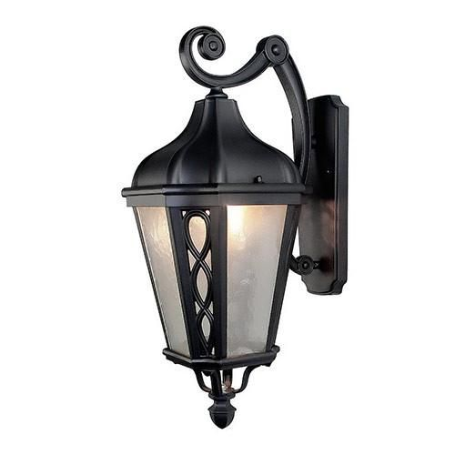 402 best outdoor wall lights images on pinterest lnc outdoor wall sconces with frosted glass shade black finish mozeypictures Image collections