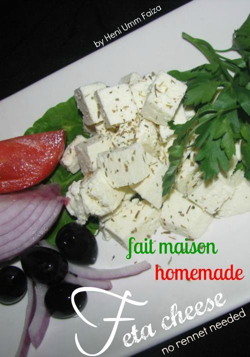 How To Make Feta Cheese Without Rennet...http://homestead-and-survival.com/how-to-make-feta-cheese-without-rennet/