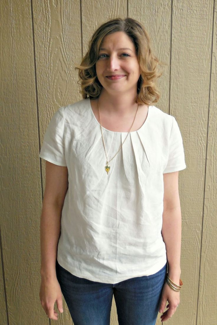 Simplicity 2892 - Blue Birds Singing: White Blouse Down