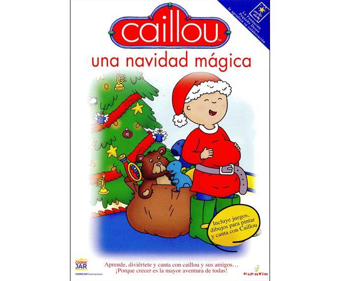 Caillou Una navidad mgica dvd Disponible en httpxlpvcult