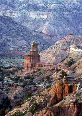 Second in size only to the Grand Canyon — Palo Duro Canyon, Texas.
