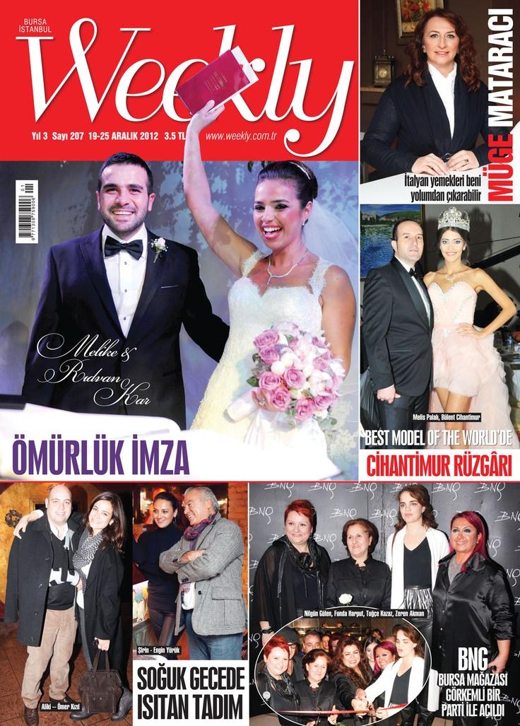 Weekly Dergi, 19-25 Aralık sayısı yayında! Hemen okumak için: http://www.dijimecmua.com/weekly/     Weekly Dergisi (Haftalık);   1 ay boyunca tüm sayıların dijital üyeliği 8 lira,   3 ay boyunca tüm sayıların dijital üyeliği 18 lira,   6 ay boyunca tüm sayıların dijital üyeliği 24 lira,   12 ay boyunca tüm sayıların dijital üyeliği 36 lira.     Üye olmak için tıkla: http://www.dijimecmua.com/index.php?c=m