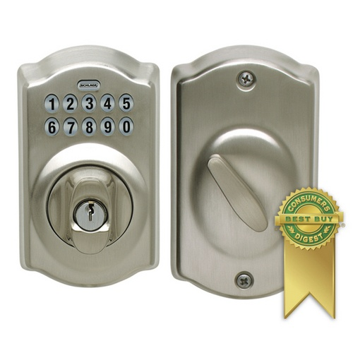 story blogger chooses schlage electronic keypad door lock for her new homeu0027s front door