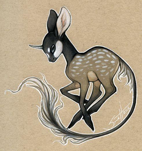 cute fantasy animals drawing - Google zoeken