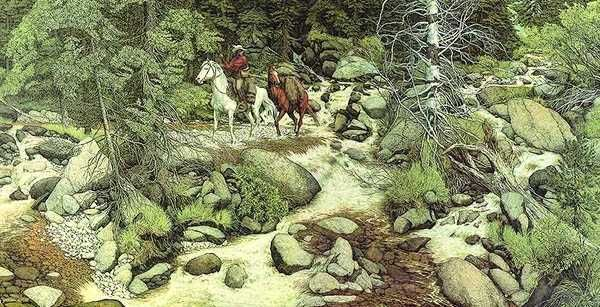Hidden Faces In Paintings Imgur Hidden Face Painting Illusions