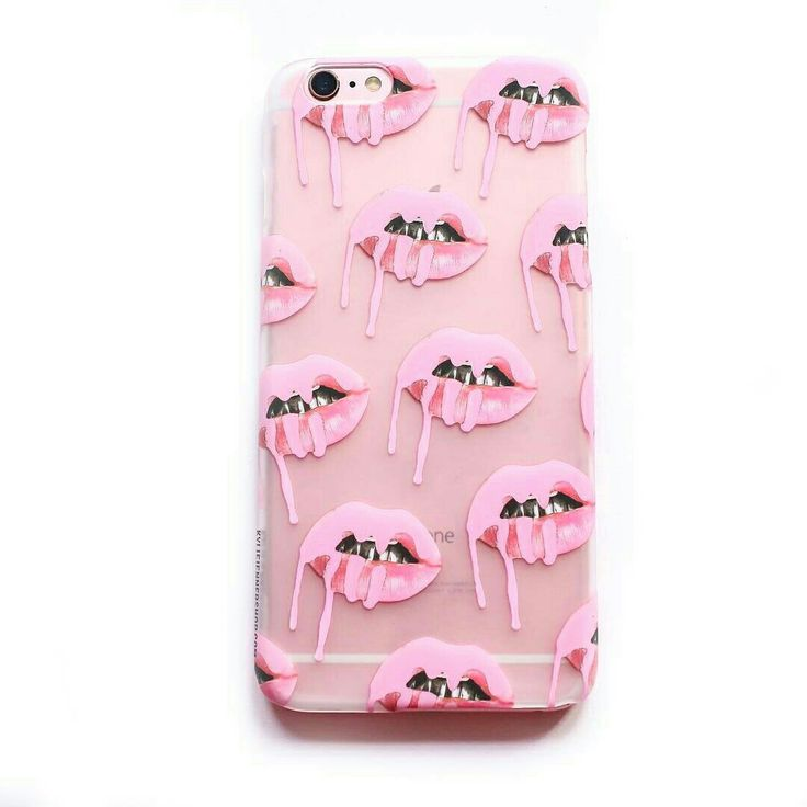 Frosted Pink Lips iPhone Case *also available in blue* | The Kylie Jenner Shop