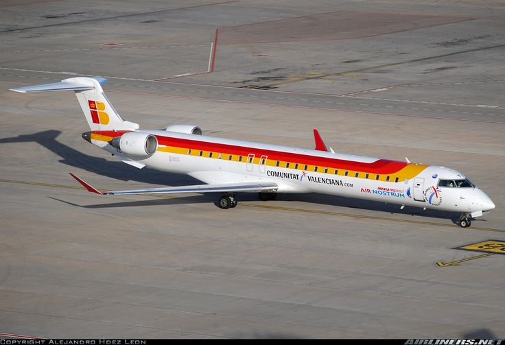 Bombardier CRJ-900 (CL-600-2D24) - Air Nostrum (Iberia Regional) | Aviation Photo #1484214 | Airliners.net