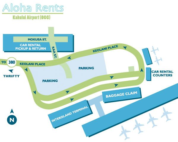 Kahului Maui OGG – Rental Car Map #rv #rentals http://rental.nef2.com/kahului-maui-ogg-rental-car-map-rv-rentals/  #rental car search # The Kahului Airport (OGG) is situated on a land bridge between the West Maui Mountain Range and Haleakala. Approximately three miles separates the town of Kahului from the airport. The only other commercial airport on Maui is (JHM). The JHM airport is generally used for inter-island flights. The airport offers interisland commercial flights and overseas…