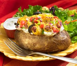 José Olé Sonora Stuffed Potatoes recipe - try this Mexican twist on a traditional favorite!