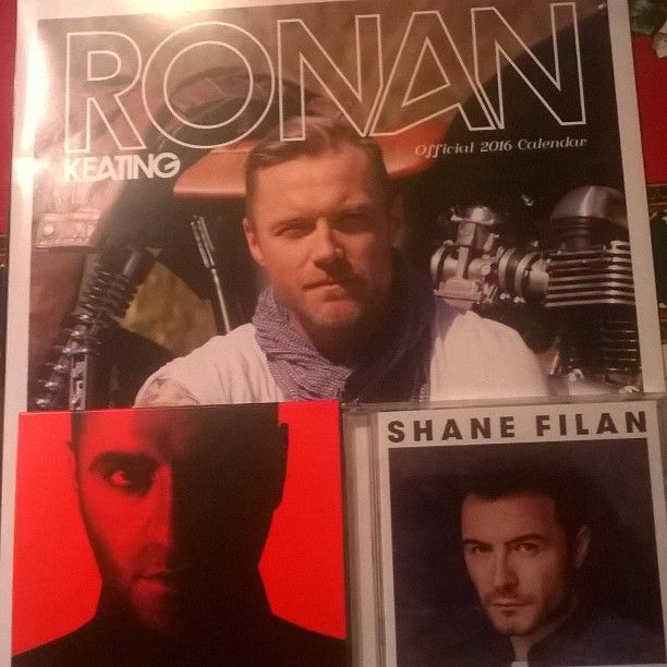 Christmas presents ❤ #ronankeating #shanefilan #markusfeehily #Christmas #presents #regalodinatale #Natale