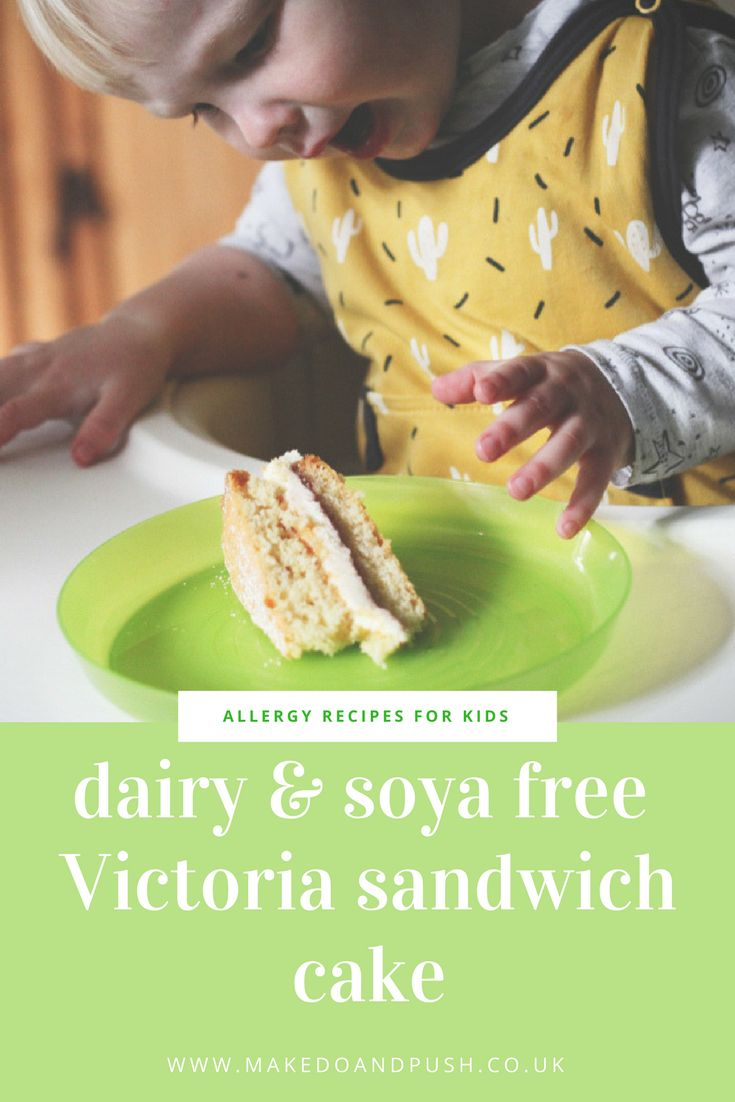 dairy and soya free victoria sandwich cake