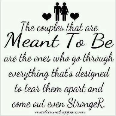 The couples that are Meant to Be... <3