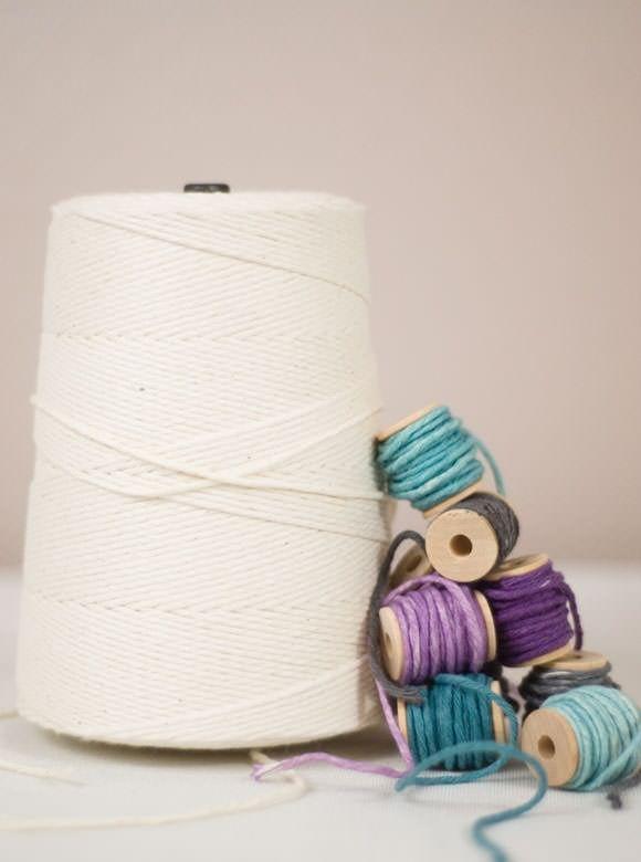 DIY Hand-Dyed Twine | Handmade Charlotte