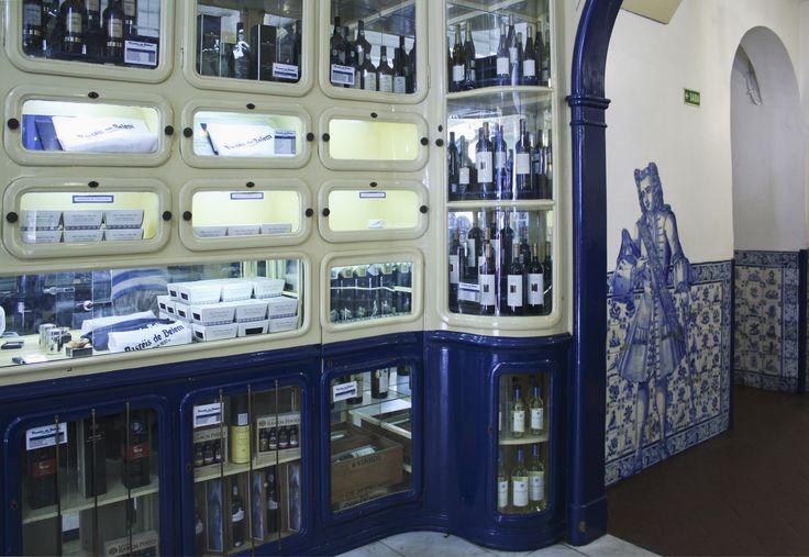 LUÍS MIGUEL VITERBO - Lisboa | Fábrica dos Pastéis de Belém / Pastéis de Belém Factory #Azulejo #AzulEBranco #BlueAndWhite