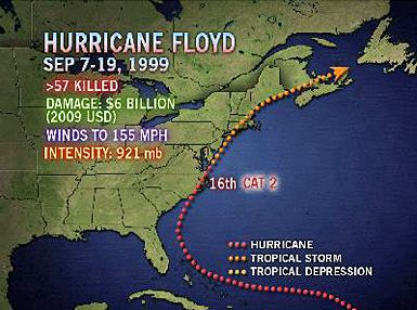 Hurricane Floyd | hurricane floyd 9 7 19 1999 hurricane floyd september